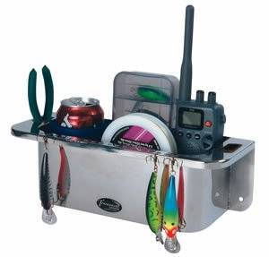 Boat Mates 2162 Stor-Aweigh Gps Radio Caddy For Boats