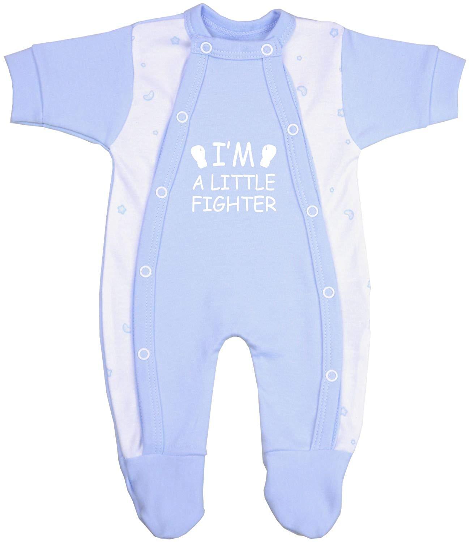 1ee48b45a Buy 1 Im a Little Fighter Premature Baby Clothes Bodysuit Vest 3-7lb ...