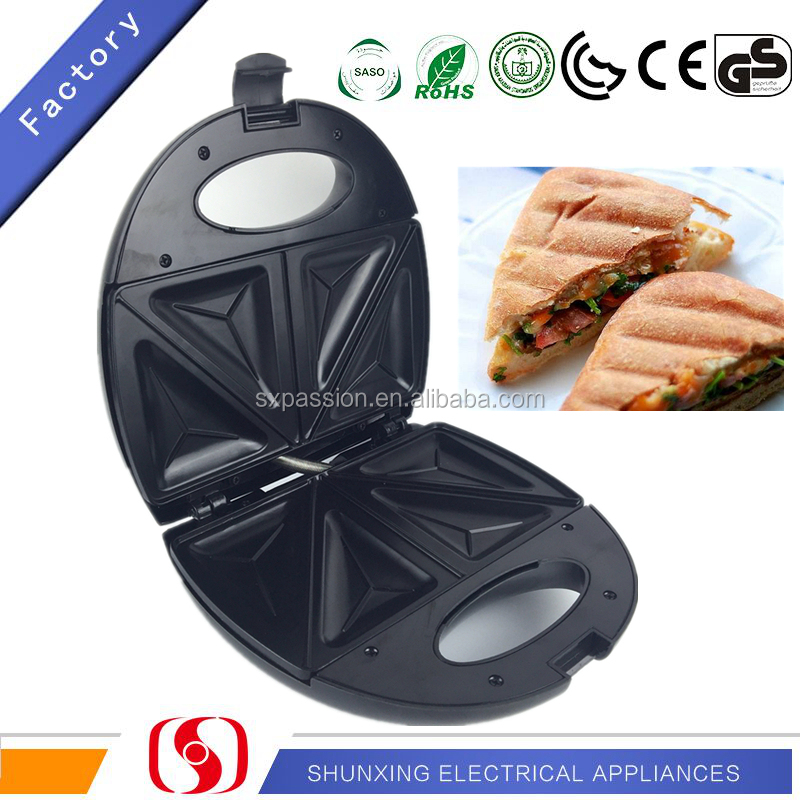 Hand Control Cheap Sandwich Maker Commercial Waffle Grill