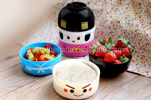 Wholesale 100% Pro-environment Custom Japanese Bento Box with Lid