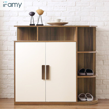 Modern Wooden Shoe Rack Cabinet For Apartment
