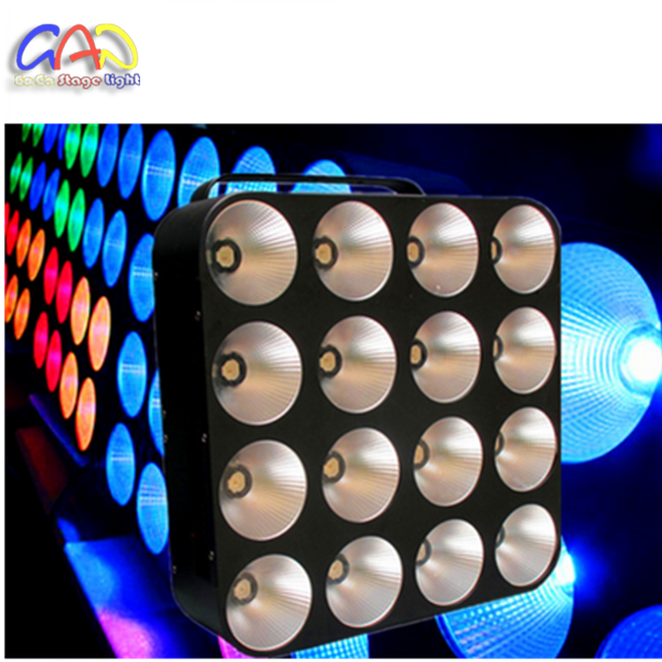 LED COB 30W <strong>RGB</strong> 4X4 AUDIENCE MATRIX STAGE BLINDER LIGHT LED PANEL PIXEL LED PANEL AUDIENCE LIGHT