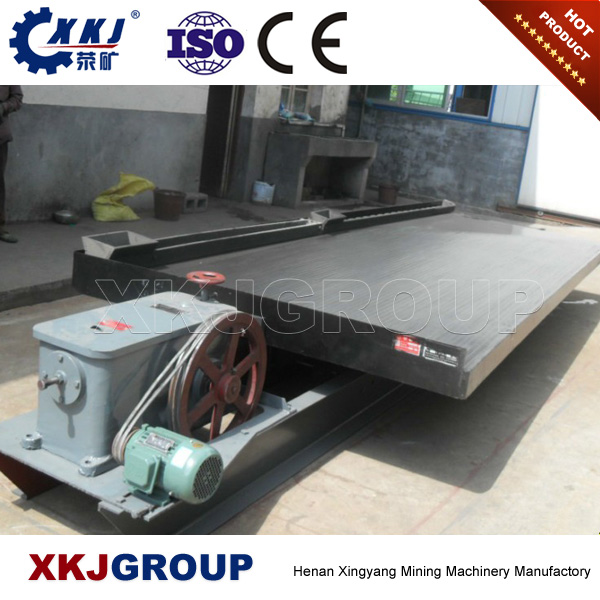 China Copper Separation Shaking Table Used in Gold Mining Separation