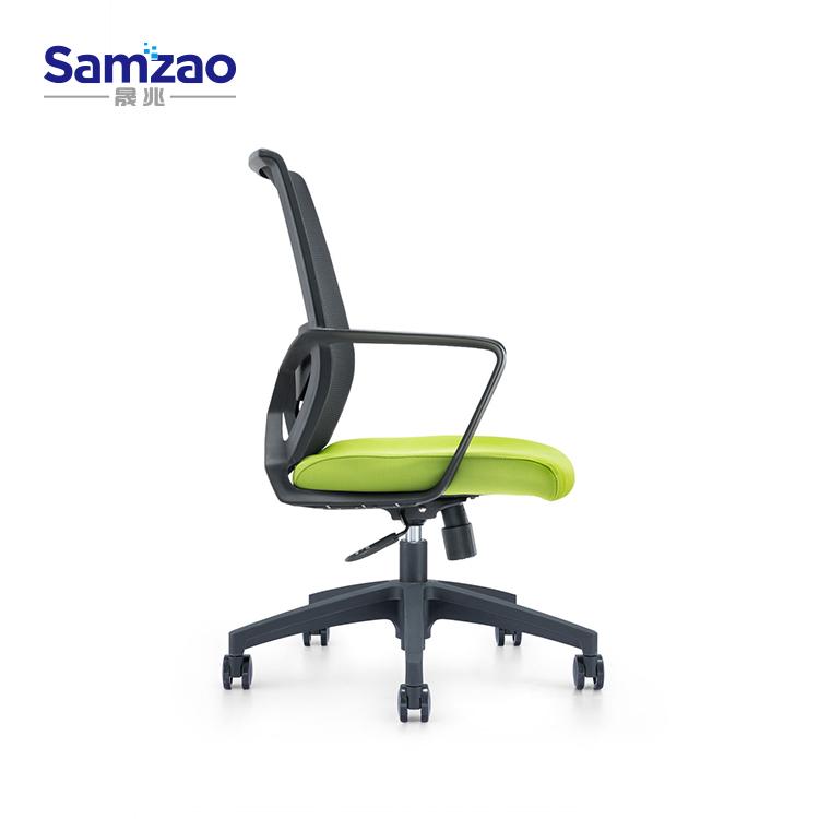 Vendita calda girevole sala riunioni sedia, pieno di maglia a buon mercato sedia da ufficio, ergonomico vite ascensore personale sedia da conferenza