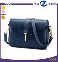 fashion women leather shoulder bag PU, 2016 bags vintage lady crossbody bag made in China