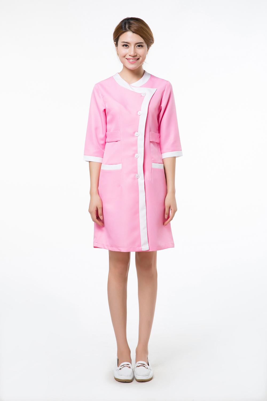 Popular spa uniforms cotton buy cheap spa uniforms cotton for Spa uniform cotton