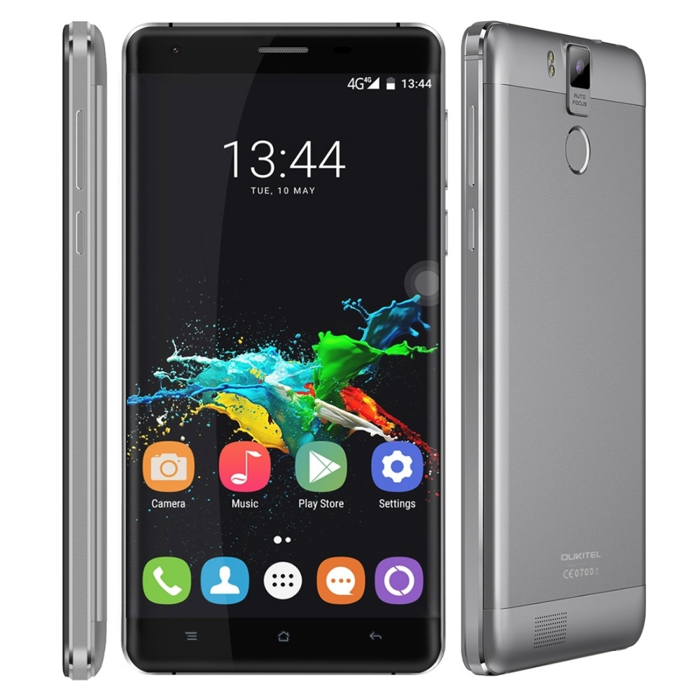 Oukitel K6000 Pro Android 6.0 6000mAh 4G Phablet 5.5 inch MTK6753 64bit Octa Core 3GB RAM 32GB ROM 16MP Rear Camera Cell Phone