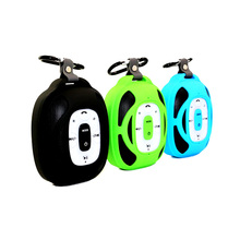 Hot selling special design polar panels portable outdoor sport mini blue tooth speaker with hook
