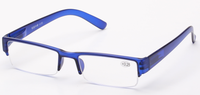 2015 new style cheap half eye rimless frame reading glasses
