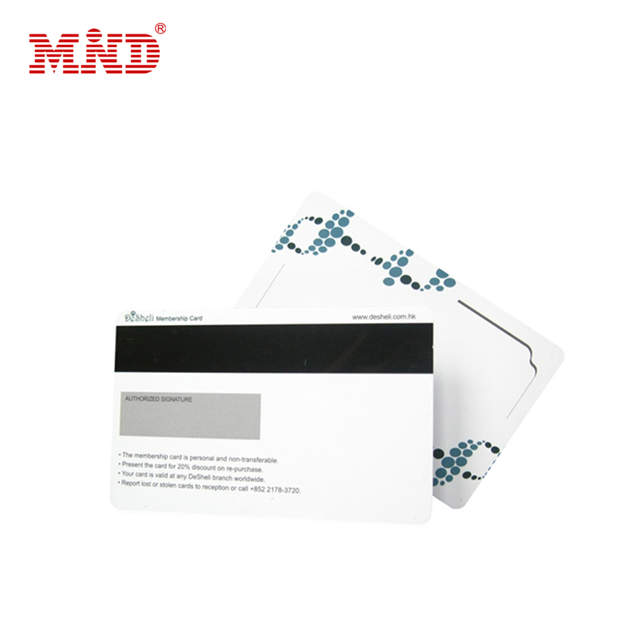 Hot Sale Smart IC Metal Magnetic Stripe Card
