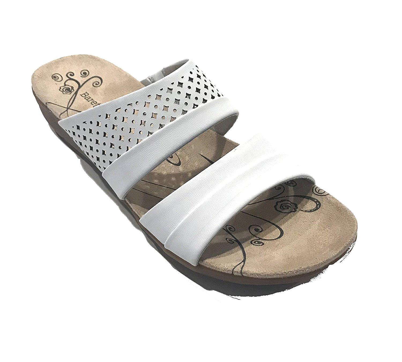 35b2a9c6d59 Get Quotations · BareTraps Bare Traps Womens Jimina Open Toe Casual Slide  Sandals