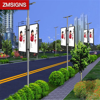 Led Lightbox Lamp Post Advertising With Best Price Buy Led