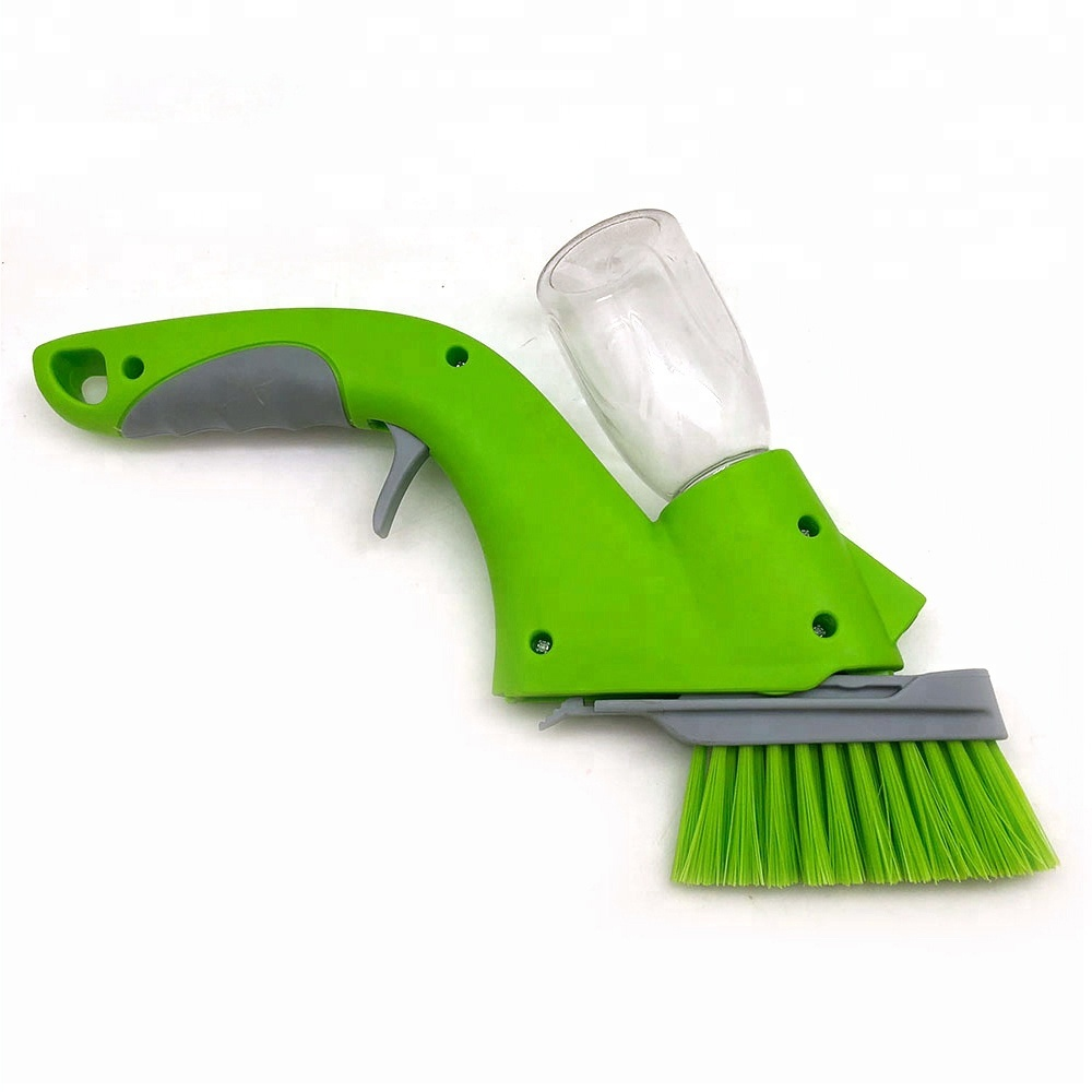 Plastic green Car Cleaner Spray Scrub window <strong>Brush</strong>