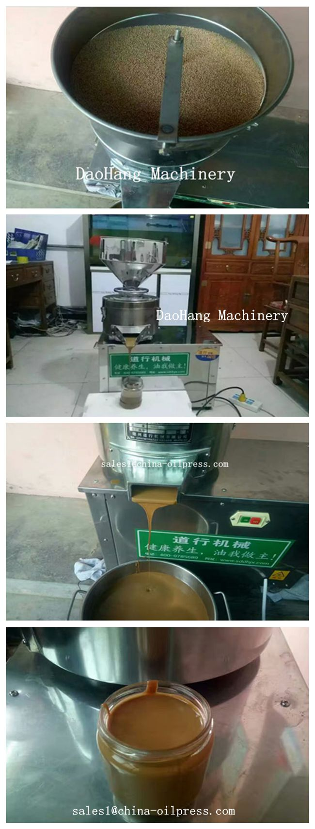 2019 Hot Sell Automatic Almond Chocolate Butter Processing Machine Low Price
