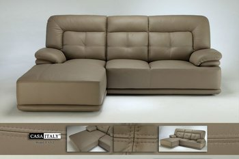 Casa Italien Ledersofa F 3212, Wohnzimmer L  Form Sofa, Modernes Sofa  Gesetzt,