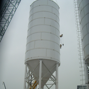 Hot selling accessories bulk steel storage wood pellets bolted air cement silo