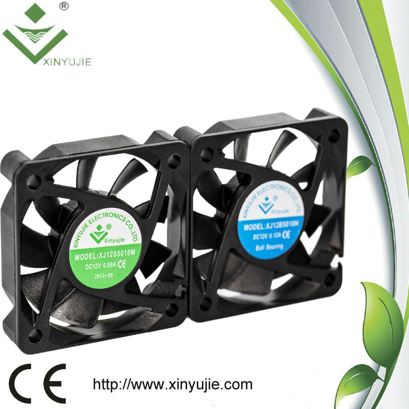 China wholesale! Black 3 Pin Computer 50MM Fan /DC 50mm fan 12mm thick