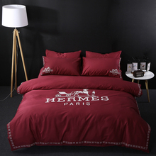 Famous brand wholesale 100% cotton comforter sets bedding for home/wedding