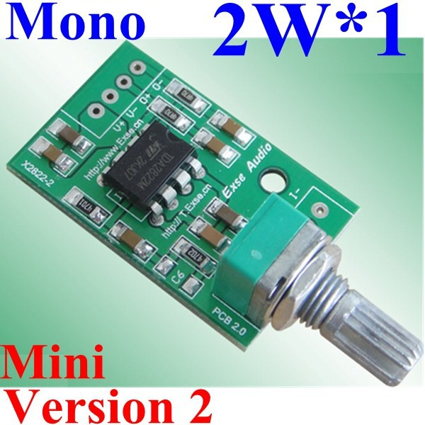 TDA2822M Mono Power Amplifier Module for active speaker 2W x 1