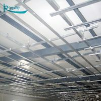Light Steel Keel Gypsum Board Wall Suspended T Bar Light Steel Keel For Drywall Partition