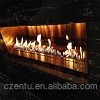 superior modern fireplace with bio ethanol fuel&real fire