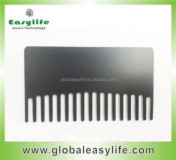Laser engraved comb business cardcomb shape metal cardcomb metal laser engraved comb business card comb shape metal card comb metal card colourmoves