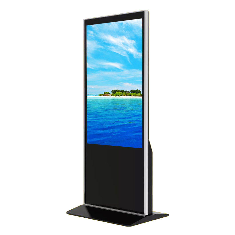 55 inch 4K Wifi Touch Screen Totem Indoor Kiosks