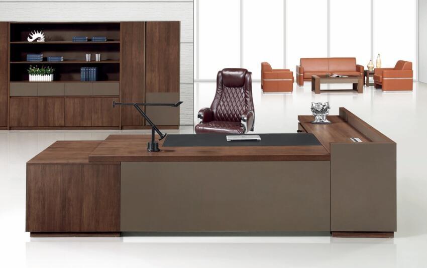 Ufficio Moderno Di Lusso : Moderno mobili per ufficio scrivania direzionale con lato