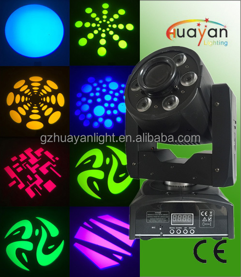 High Quality Stage Wash Light 30W Gobo Effect LED Moving head Spot+6*8w Wash Led Moving Head