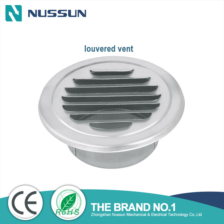 HVAC ceiling round louvered vent,air diffuser circular grating,air duct louvers