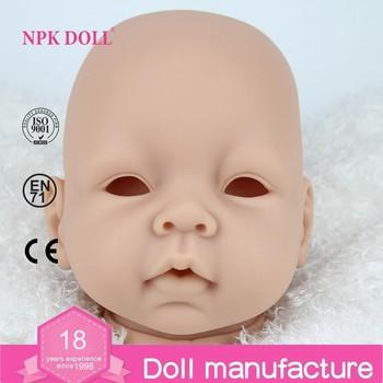 22 inch reborn bayi boneka silikon vinil boneka kit DIY bagian grosir reborn  bayi boneka cetakan 70c1672e3d