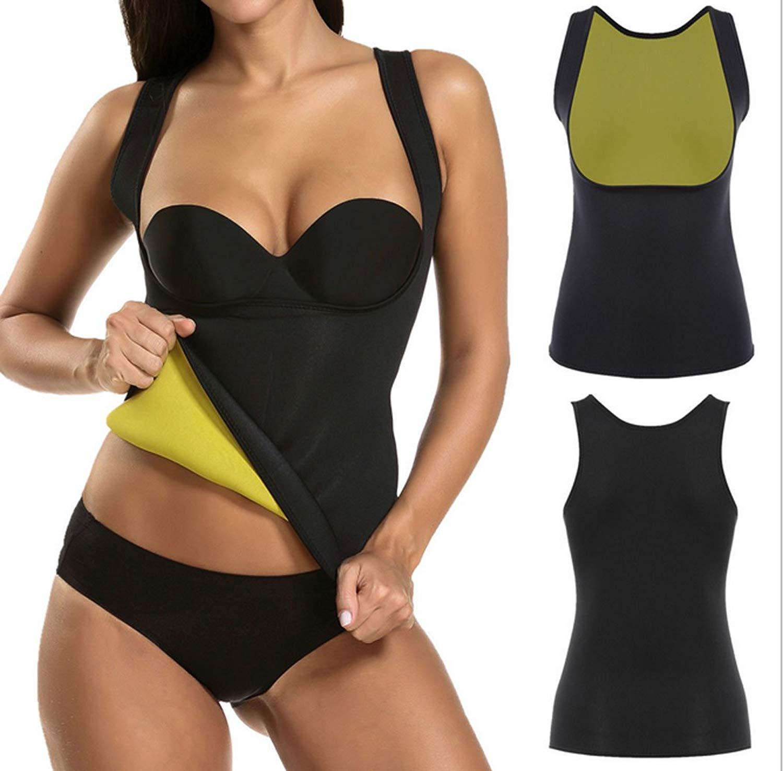 be9f43e2a20 Get Quotations · Sufei Hot Shapers Body Shaper Waist Trainer Cincher Corset  Women's Hot Waist Trimmer Shirt Seamless Slimming