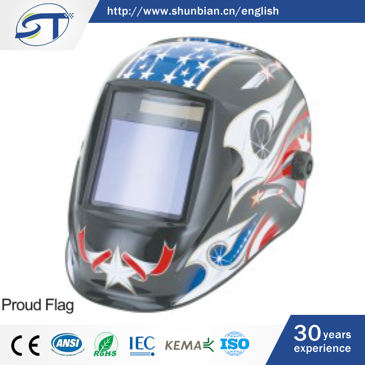 SHUNTE Branded Superior Comfort Thailand Automatic Welding Helmet With LED