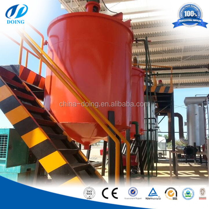 5/8/10 ton waste oil Distillation waste oil recyling Plant for diesel