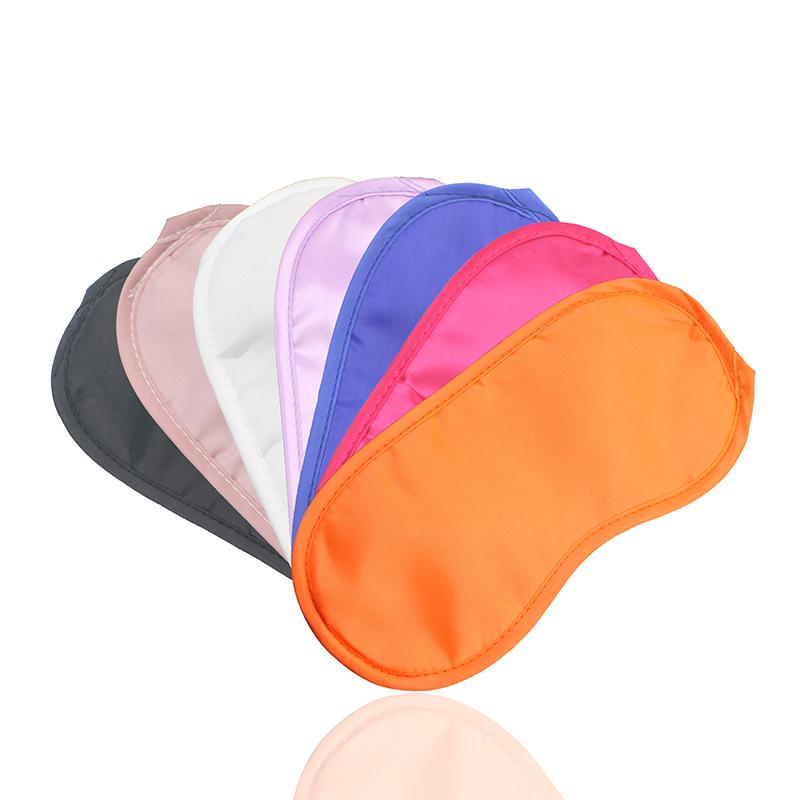 Cheap promotional airline travel sleeping custom logo personalized pattern facial mask 200 pcs/bag eye mask/eyemask