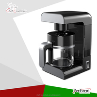BA-GF-60A Electrical domestic american style distill brewing coffee machine with filter holder coffee pot