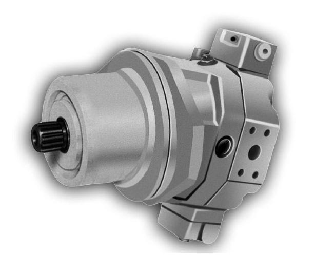 Поршневой двигатель Brueninghaus Hydromatik Rexroth A6VE A6VE80 A6VE107 A6VE160 двигателя