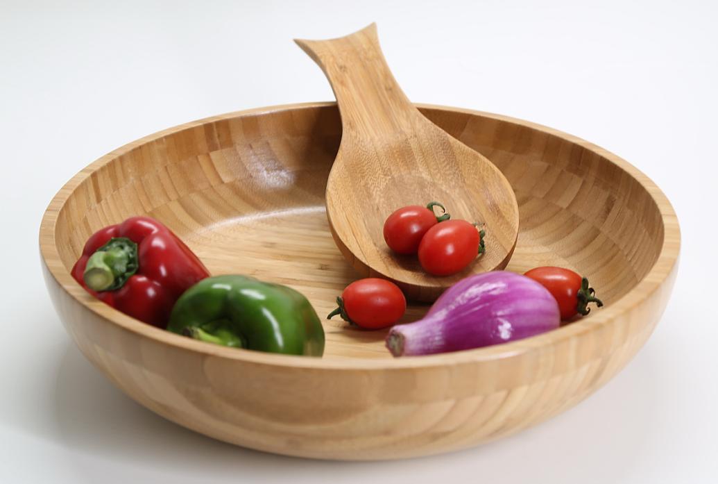 High Quality bamboo salad bowl