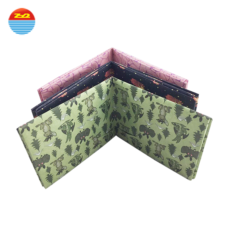 waterproof anti tear RFID TYVEK fabric wallet to protect from from cards from scanning
