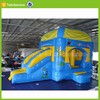 cheap gaint inflatable bouncer for sale , inflatable bouncer with slide