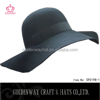 Wide Brim Felt Hat Pattern felt Floppy Hat Wholesale - Buy Wide Brim ... 02bd6eb59c8