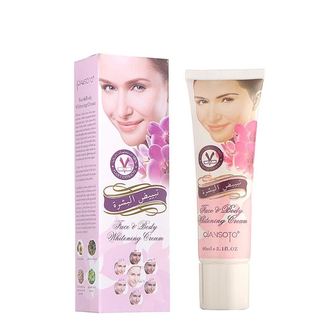 Whitening Cream,Lotus.flower Natural Facial Face Whitening Cream Skin Whitening Dark Skin Lightening Bleaching Cream For Dark Skin Bleaching Lotion (60g)