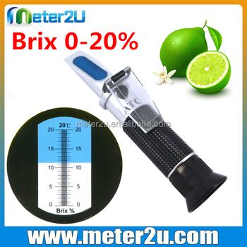Easy Use 0 20 Refractometer Brix Refractometer Calculator Buy