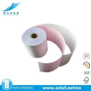 76mm Good BOND 3ply carbonless paper roll for receipt