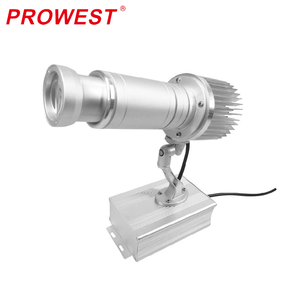 2-7mstatic HD 1650-1850lux @3m IP60 waterproof projective patter trademark projector light advertising gobo light projector