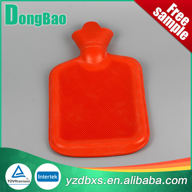not expensive high quality 1500ml hot water bottle in red colour