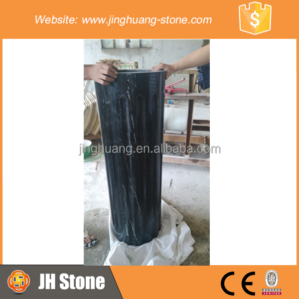 High Quality Hollow Marble Column For Construction Decoration