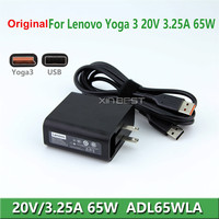 Laptop Charger Parts 20V 3.25A Laptop Charger 65W Ac Adapter For Lenovo Laptop