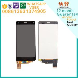 for Sony Z3 compact lcd +touch screen +with frame d5833 d5803