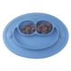 promotional items flower table runner kitchen children's bowl silicone baby plate Placemat Coasters Rubber silicone placemat